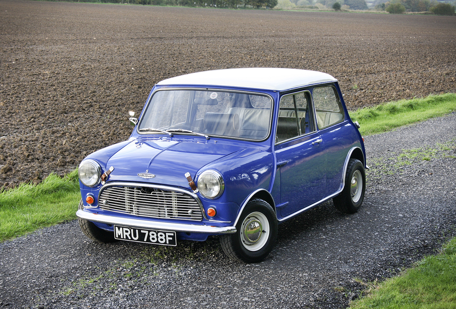 Works Mini Cooper S Rally Cars Registration Numbers