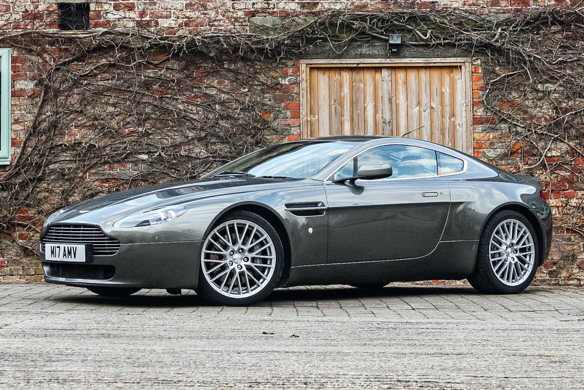 2007 Aston Martin V8 Vantage Sold